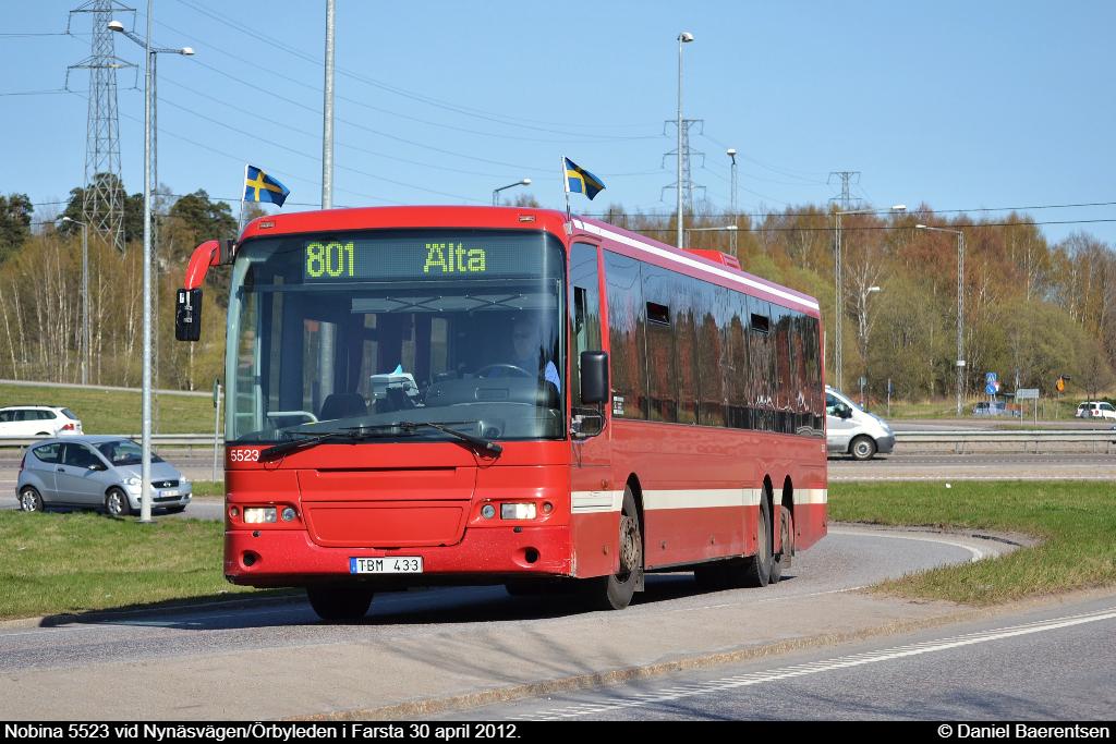 Nobina 5523