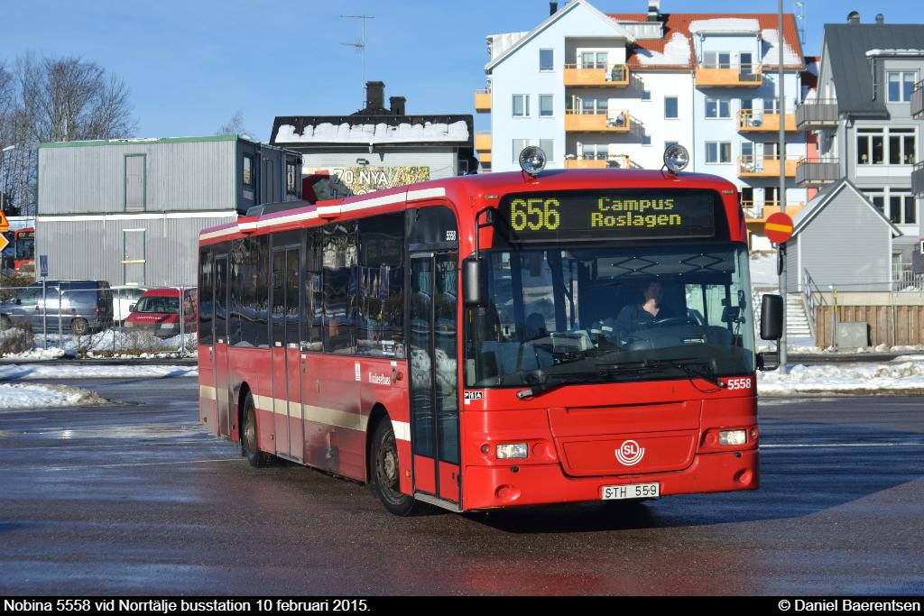 Nobina 5558