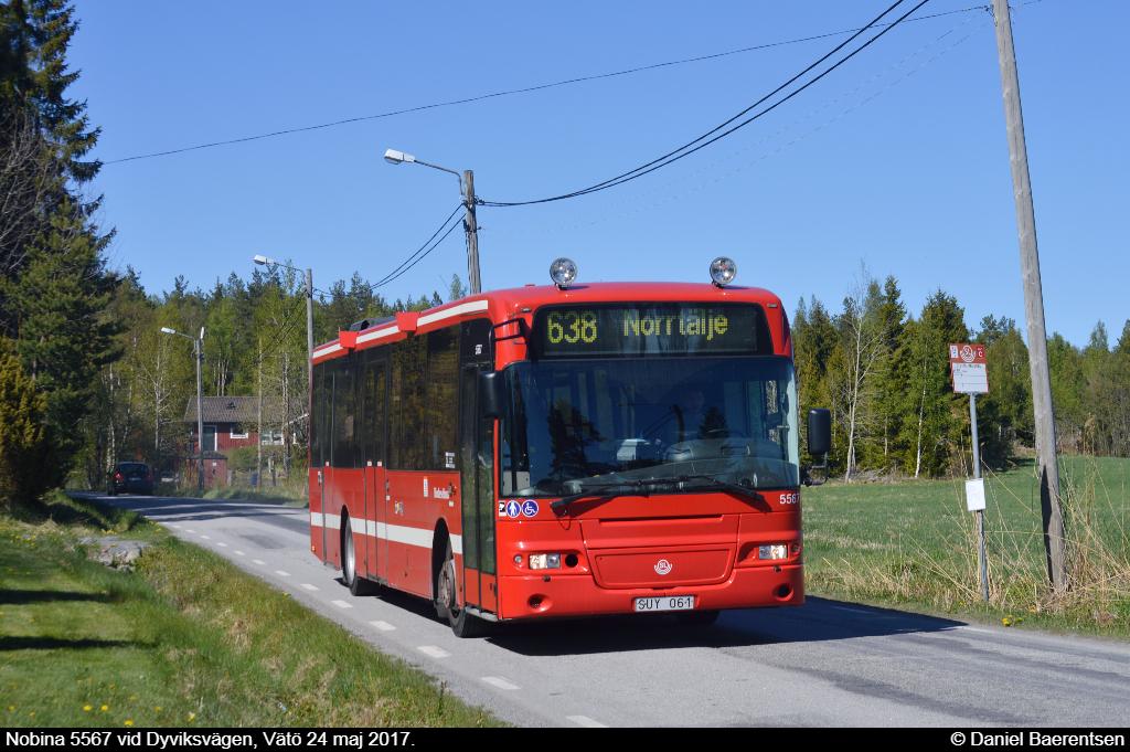 Nobina 5567