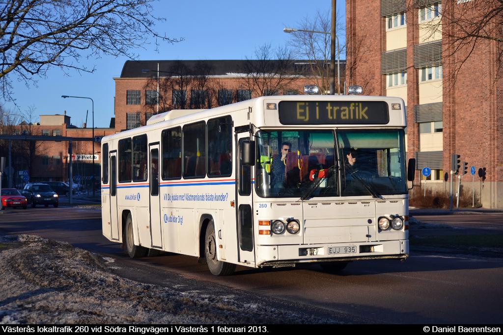 Västerås lokaltrafik 260
