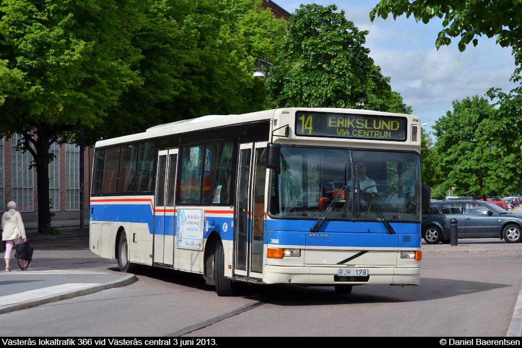 Västerås lokaltrafik 366