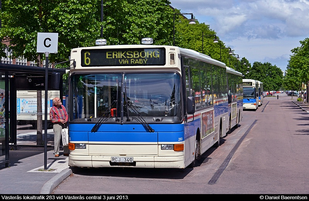 Västerås lokaltrafik 283