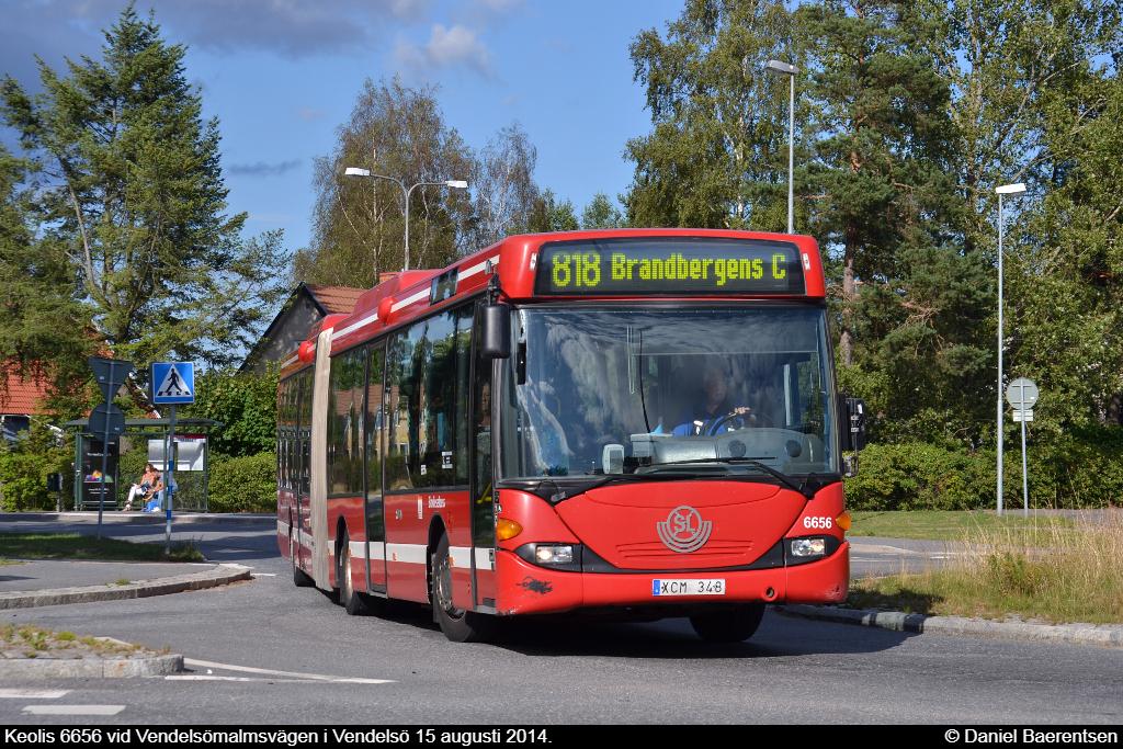 Keolis 6656