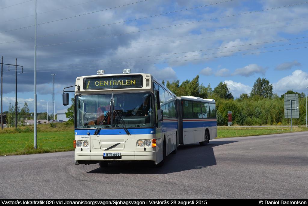 Västerås lokaltrafik 826