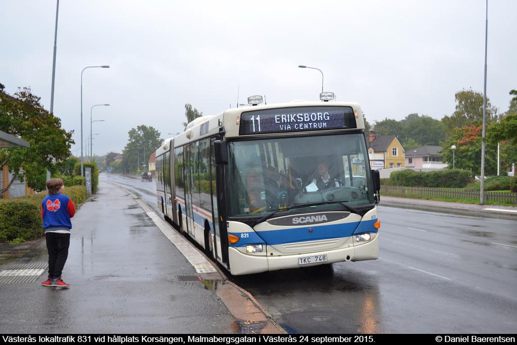 Västerås lokaltrafik 831