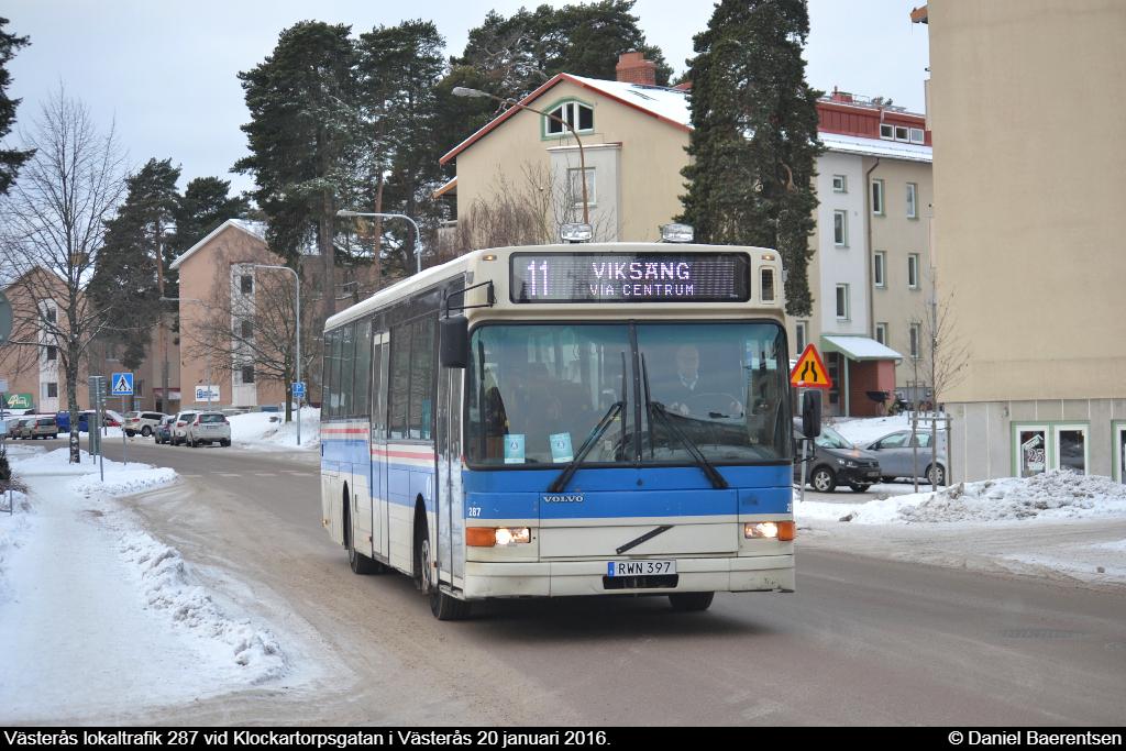 Västerås lokaltrafik 287