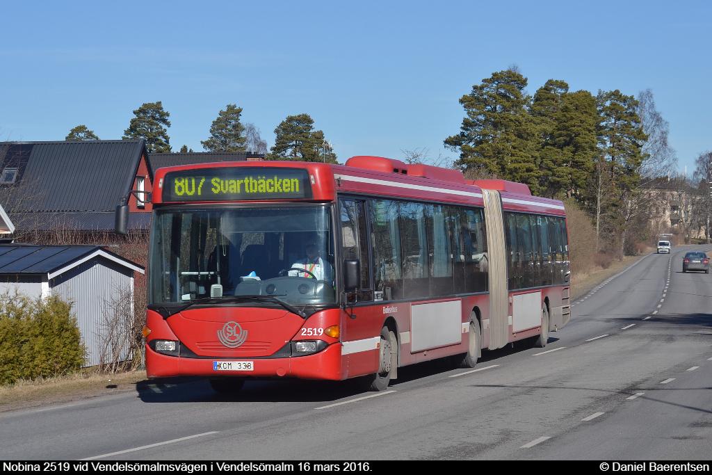 Nobina 2519